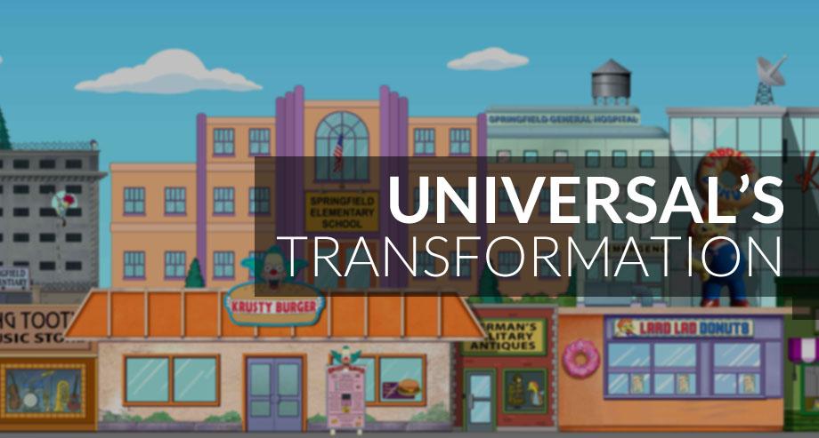 Universal Studios Simpson's Springfield